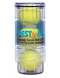 Restore TM Extends life of tennis balls