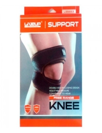 Фиксатор колена LiveUp Knee support black