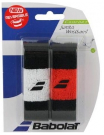 Напульсник Babolat reversible jumbo wristband black/orange
