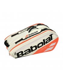 Чехол Babolat RH X 12 Pure white/red