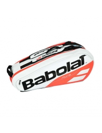 Чехол Babolat RH X 6 Pure white/red
