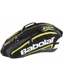 Чехол Babolat RH X 12 team line black/yellow 2015