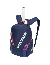 Рюкзак Head Rebel backpack blue/orange 2018 year