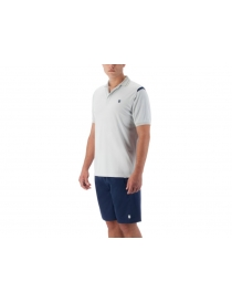 Поло Мужское K-Swiss Backcourt Polo dawn blue