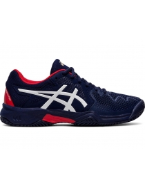 Кроссовки детские Asics Gel-Resolution 8 Clay GS navy/red