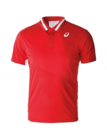 Поло мужское Asics Tennis Polo Shirt red
