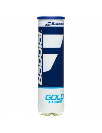 Мячи теннисные Babolat Gold All Court x4 ball