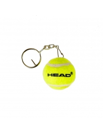 Брелок мяч Head Mini Tennis Ball Keychain 2020 yellow