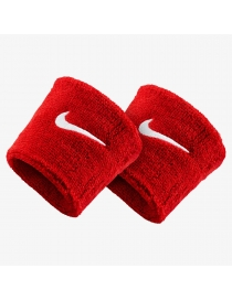 Напульсник Nike Swoosh Wristband red/white