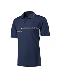 Поло мужское Head club technical polo shirt navy