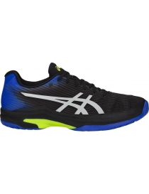 Кроссовки мужские Asics Solution Speed FF black/illusion blue