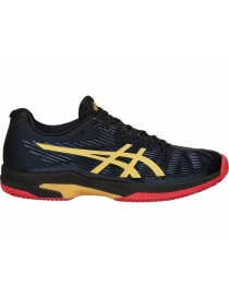 Кроссовки мужские Asics Solution Speed FF L.E. Clay black/rich gold
