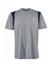 Футболка муж. K-Swiss Men B2 crew dress blue
