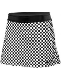 Юбка женская Nike Court Dry Skirt STR PR black/white