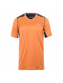 Футболка дет. Babolat T-shirt V-neck perf boy orange