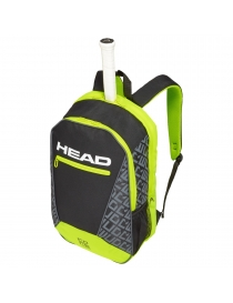 Рюкзак Head Core Backpack black/neon yellow