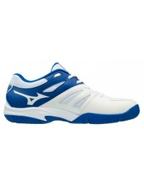 Кроссовки Mizuno Break shot 2 AC white/blue/nasturtium
