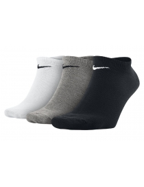 Носки Nike Volue No Show 3-pack black/gray/white