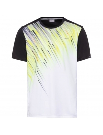 Футболка детская Head Slider T-Shirt Boy black/yellow 2020