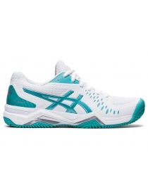 Кроссовки женские Asics Gel-Challenger 12 Clay white/ocean-blue