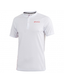 Поло мужское Babolat Perf Polo Men white/salsa