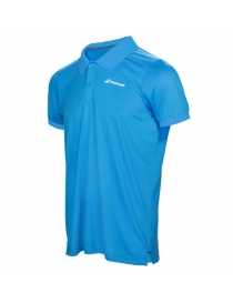Поло детское Babolat Core Club Polo boy drive blue