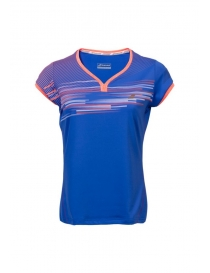 Поло женское Babolat Perf Cap Sleeve top twiling blue