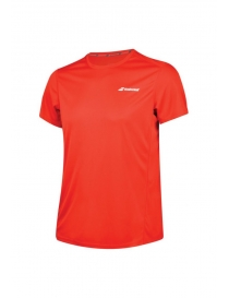 Футболка детская Babolat Core Flag Club tee boy fiery red