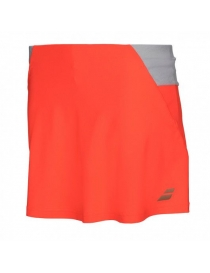 "Юбка женская Babolat Perf skirt 13"" fluo red"