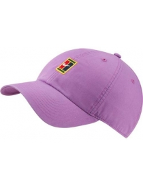 Кепка Nike H86 cap court logo purple