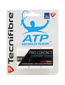 Намотка Tecnifibre Pro Contact soft ATP white X 3