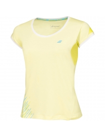 Футболка женская Babolat Cap sleever perf women lime washed