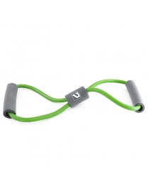 Эспандер восьмерка LIVEUP Soft expander gray+green