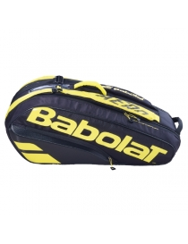 Чехол Babolat RH X 6 Pure Aero black/yellow