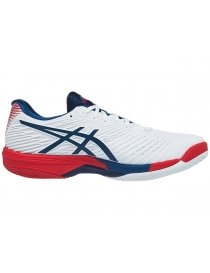 Кроссовки мужские Asics Solution Speed FF 2 clay white/navy/red
